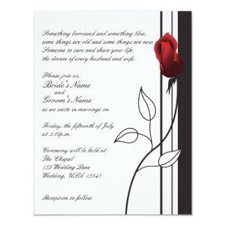 Red Rose Invites
