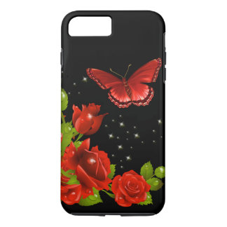 Red Rose iPhone 8 Plus/7 Plus Case