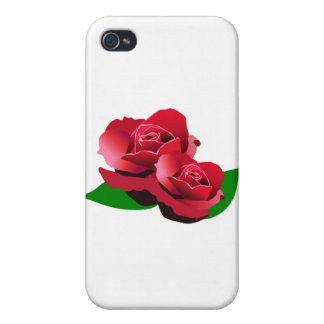 Red Rose Cases For iPhone 4