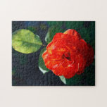 Red rose jigsaw puzzles