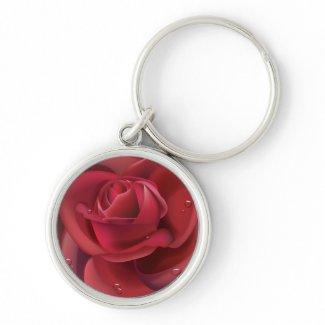 Red Rose Keychain keychain