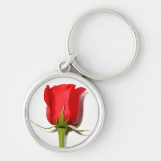 Red Rose Keychain