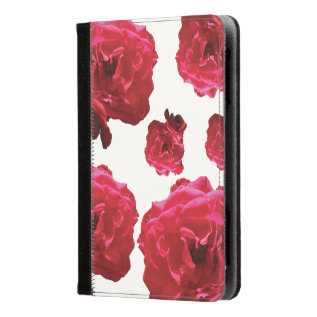 Red Rose Kindle Fire Hd/hdx Folio Case at Zazzle