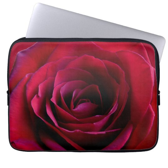 Red Rose Laptop Sleeve Romantic Rose Tablet Case