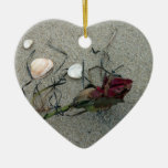 Red Rose: Lost at Sea Christmas Tree Ornaments