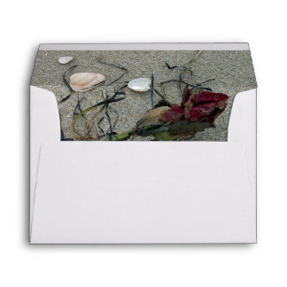 Red Rose Lost at Sea Envelopes