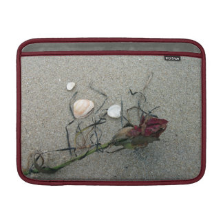 Red Rose Lost at Sea Sleeve For MacBook Air
