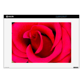 """Red Rose macro 15"""" Laptop Decal"""