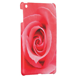 Red rose macro photo case for the iPad mini
