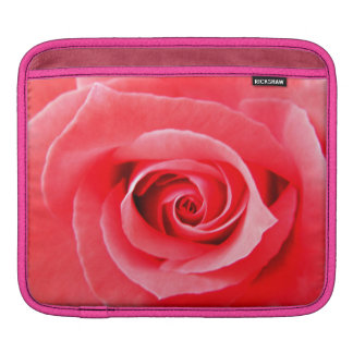 Red rose macro photo sleeve for iPads