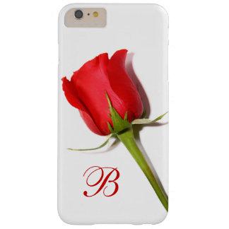 Red Rose Monogram iPhone 6 Plus Case