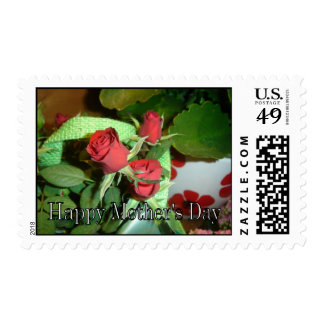 Red rose Mother's Day postage