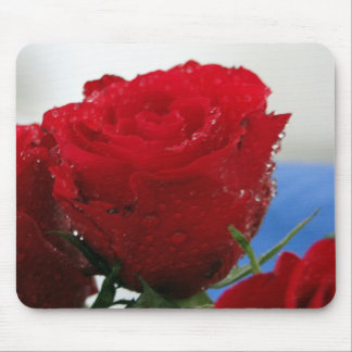 Red Rose Mousemat