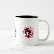 rose, flower, nature, symbol, red, black, rosebud, stern, dark, elegant, nice, gift, eerie, computer, graphic, coupe, love, expression, digital, design, houk, cool mugs, cute mugs, mug, mugs, romantic mugs, love mugs, roses, Mug with custom graphic design