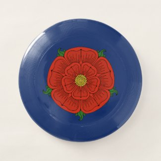 Red Rose of Lancaster Wham-O Frisbee