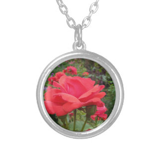 Red Rose of Love Custom Necklace
