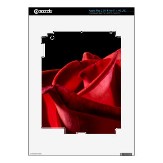 Red Rose of Love iPad 3 Decal