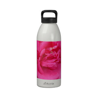 Red Rose of Love Water Bottle