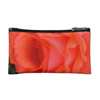 Red Rose of Summer Cosmetics Bag