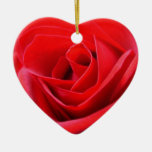 Red Rose Ornament Romantic Rose Decorations