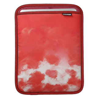 Red Rose Petals Painting Art 2 - iPad sleeve