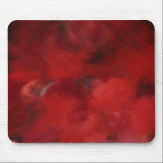 Red Rose Petals Painting Art 2 - Mousepad