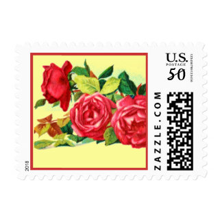 Red Rose Postage