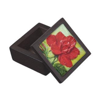 Red Rose Rose Gift Box Premium Trinket Box