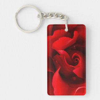 Red Rose - Roses Customized Template Keychain