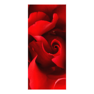 Red Rose - Roses Customized Template Rack Cards