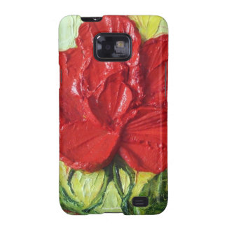 Red Rose Samsung Galexy Case Galaxy SII Cases