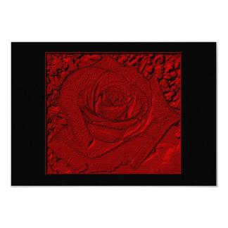 "Red Rose ""Sculpture"" Card"