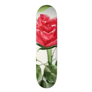 Red Rose Skateboard Deck