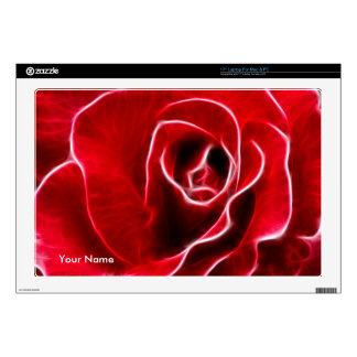 Red Rose Decals For Laptops