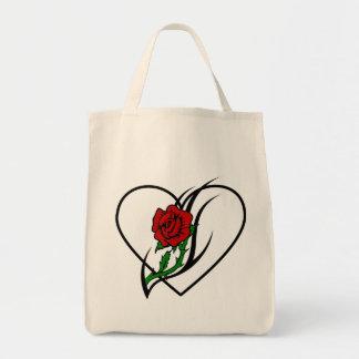 Red Rose Tattoo Bag
