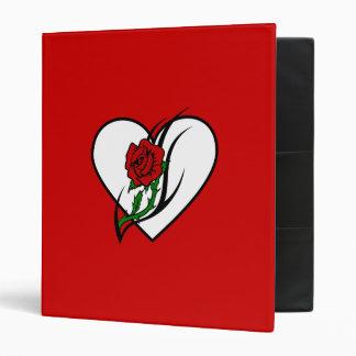 Red Rose Tattoo Binder