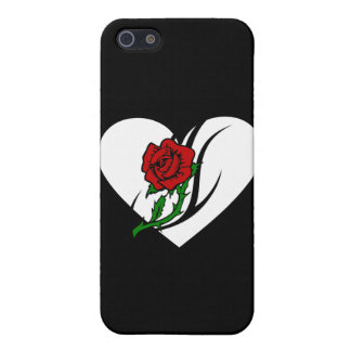 Red Rose Tattoo iPhone 5 Cover