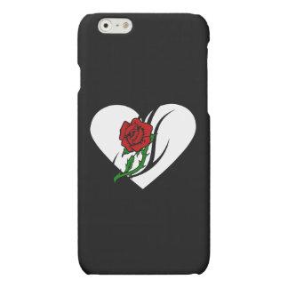 Red Rose Tattoo Matte iPhone 6 Case