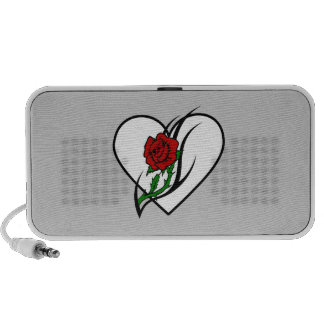 Red Rose Tattoo Mini Speaker