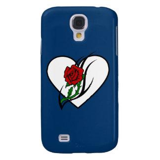 Red Rose Tattoo Samsung Galaxy S4 Case