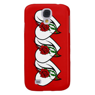 Red Rose Tattoo Samsung Galaxy S4 Case