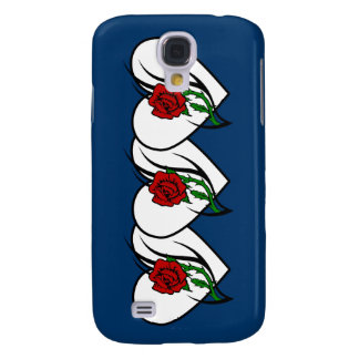 Red Rose Tattoo Samsung Galaxy S4 Cover