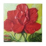 Red Rose Tile