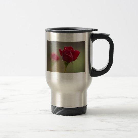 Red Rose Travel Travel Mug