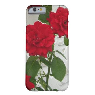 Red Rose Trellis iPhone 6 Case