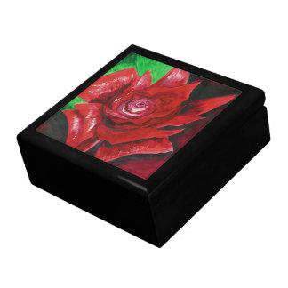 Red Rose Trinket Box