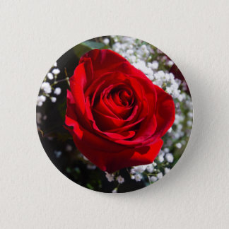 Red Rose Valentine's Day pin