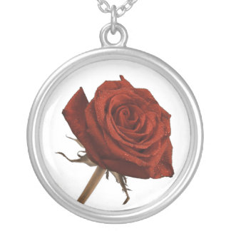 Red Rose Very Sharp Necklace