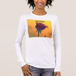 Red Rose  Women's Long Sleeve Shirt