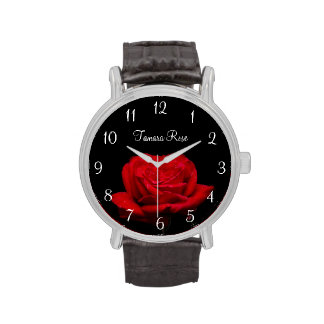Red Rose Wristwatches